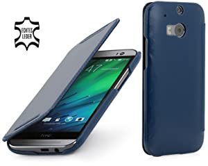 StilGut® Book Type, Leather Case for HTC One M8, Midnight Bluereviews and more news