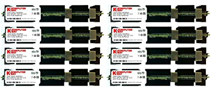 Komputerbay 32GB (8x4GB) DDR2 PC2-6400F 800MHz ECC Fully Buffered FB-DIMM (240 PIN) 32 Go avec Epandage chaleur pour ordinateurs Apple
