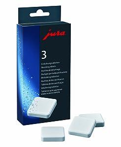 Jura 61848 - Pastillas de descalcificación, 3 x 3 unidades   Comentarios de clientes y más Descripción