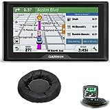 Garmin Drive 60LM GPS Navigator (US) - 010-01533-0C Bundle with Universal GPS Navigation Dash-Mount