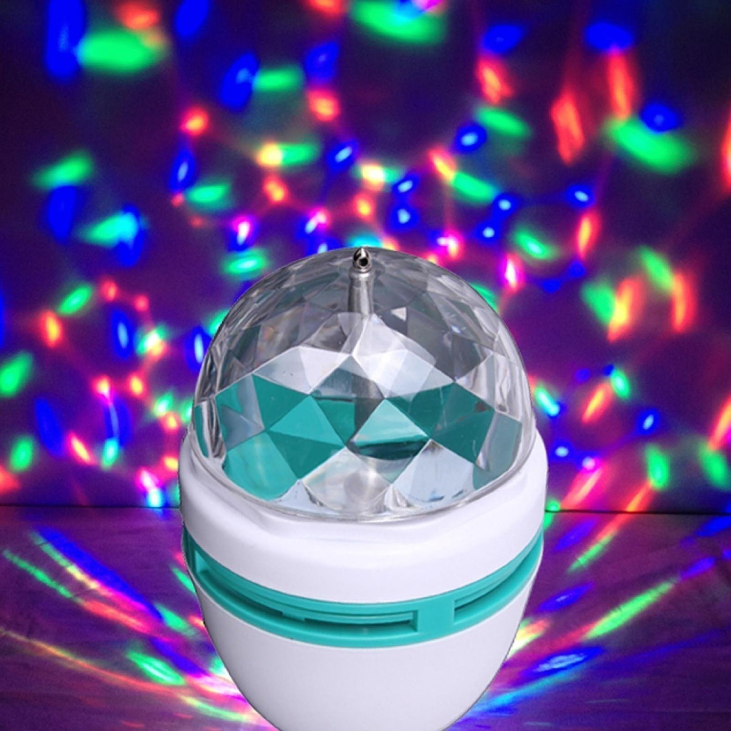 Wall night lamp online india - Disco Light Mini Party Lamp Led 3w Effect