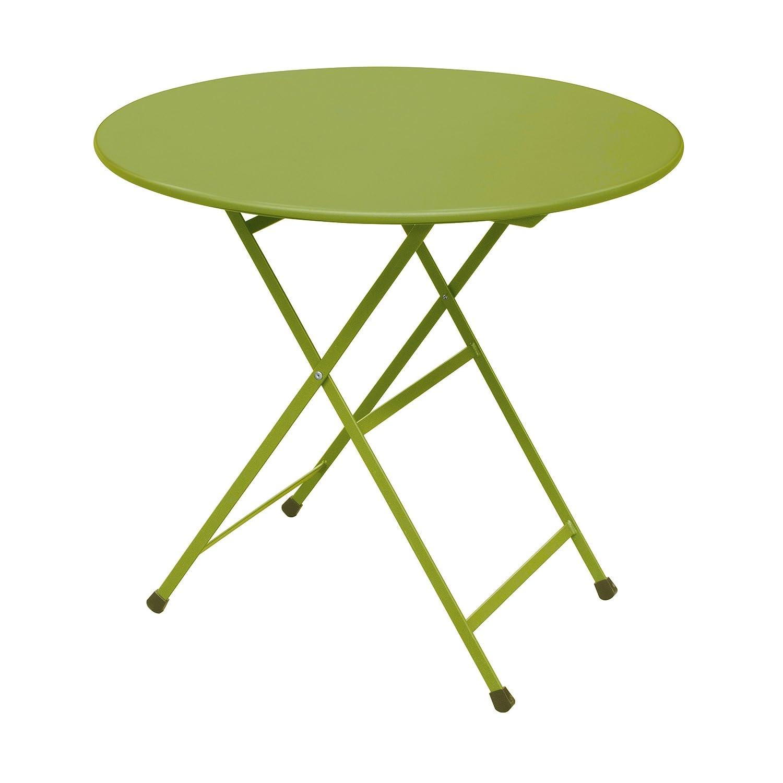 Arc en Ciel Klapptisch rund ø 80 cm grün online kaufen