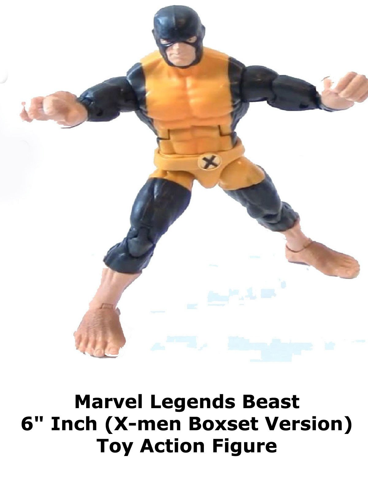 "Review: Marvel Legends Beast 6"" Inch (X-men Boxset Version) Toy Action Figure"