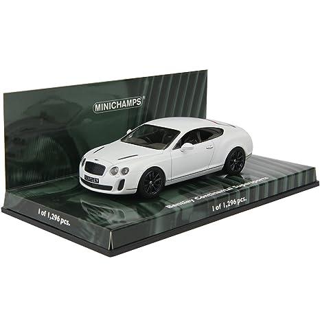 Bentley Continental Supersports 2009 (White Satin) (Diecast Model)