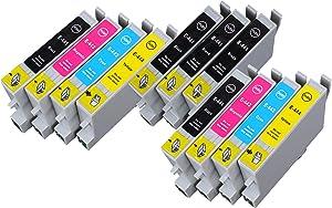 11 Multipack de alta capacidad Epson T0445 Cartuchos Compatibles 5 negro, 2 ciano, 2 magenta, 2 amarillo para Epson Stylus C64, Stylus C66, Stylus C84, Stylus C86, Stylus CX3650, Stylus CX6400. Cartucho de tinta . T0441 , T0442 , T0443 , T0444 , TO441 , TO442 , TO444 © 123 Cartucho  Oficina y papelería revisión y más información