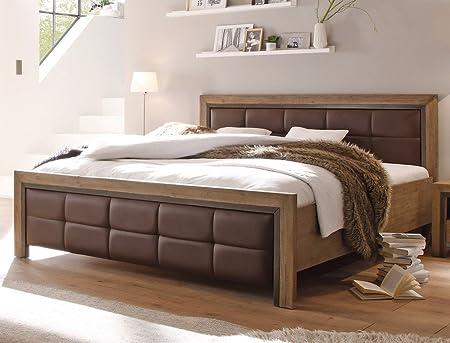 Massivholzbett Cinco 180x200 Akazie massiv Ehebett Doppelbett Holzbett Bettgestell Bett Schlafzimmer