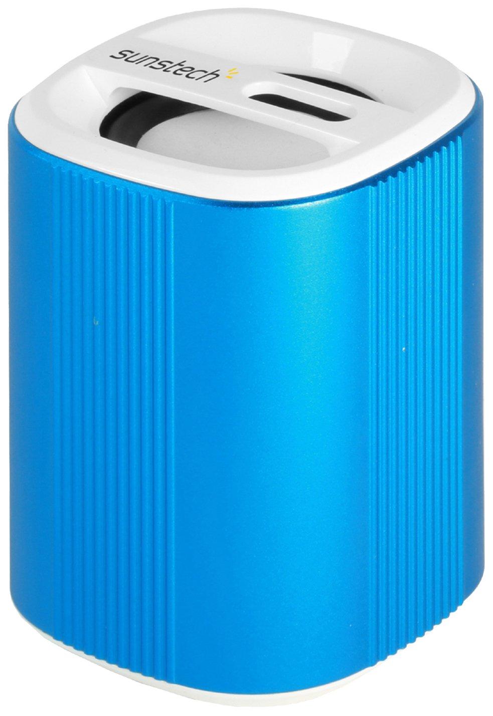 Sunstech SPUBT700BL - Altavoz con Bluetooth y micrófono (FM, SD, USB, Aux-in, 3 W RMS) azul - Electrónica más noticias y comentarios
