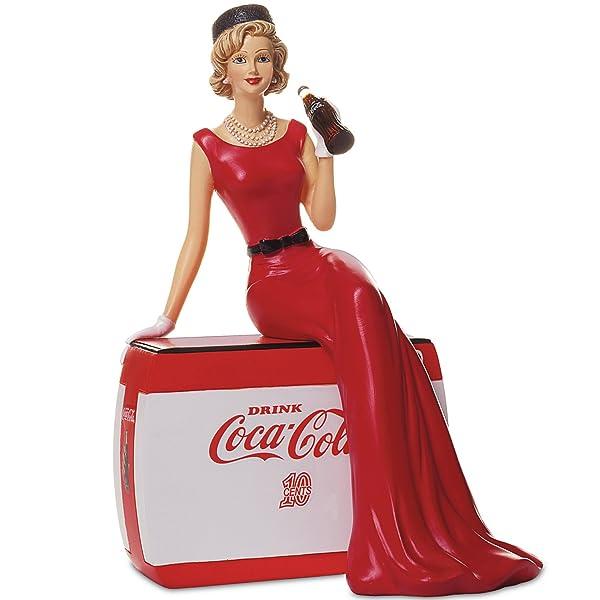 Golden Moments Coca Cola Figurine
