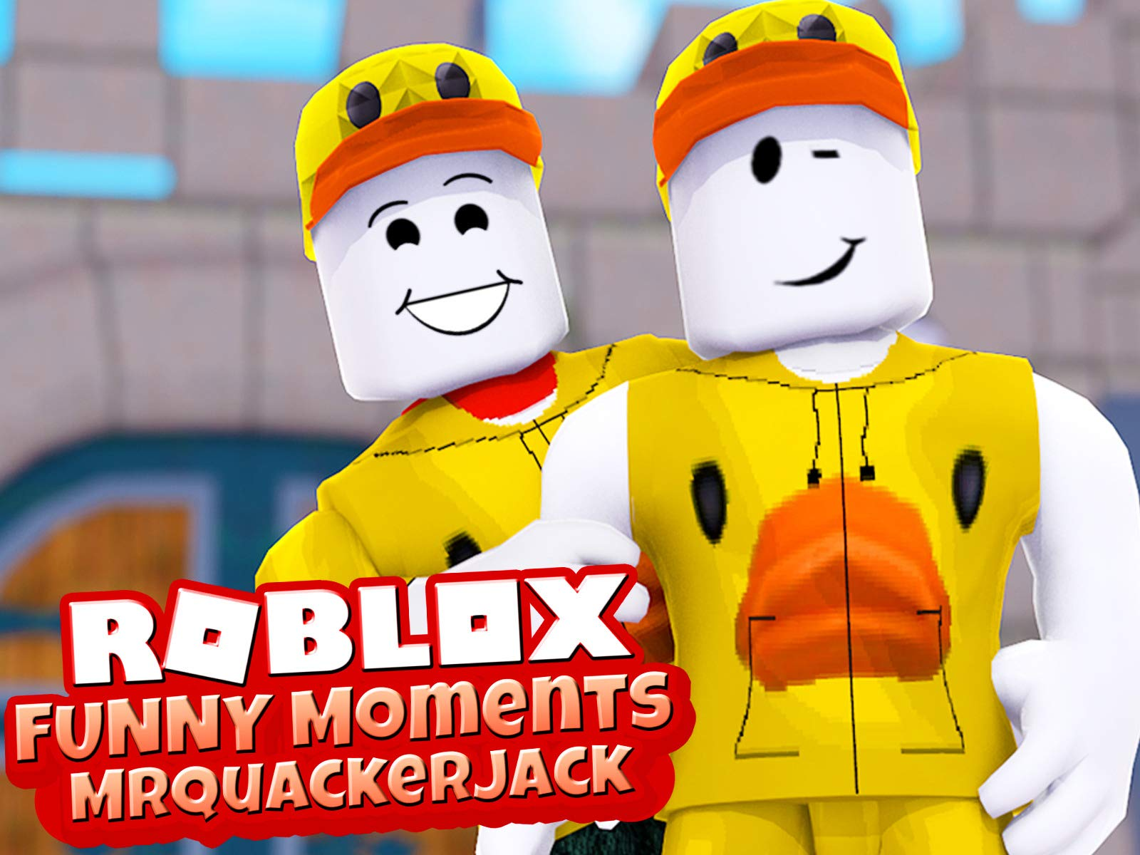 Clip: Roblox Funny Moments (MrQuackerJack)