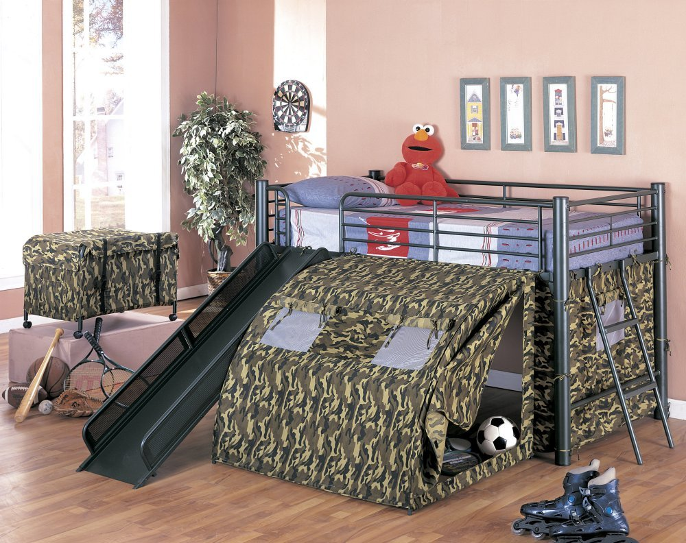 Permalink to build your own loft bed with slide