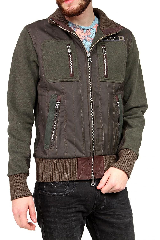 Aeronautica Militare Herren Blouson-Jacke , Farbe: Khaki günstig online kaufen