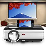 EUG Upgraded Smartphone Video Projector with 200