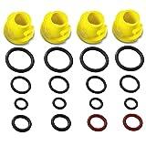 Karcher Pressure Washer O-Ring Nozzle Set (Fits: K1 K2 K3 K4 K5 K6 K7 T250 T-Racer)