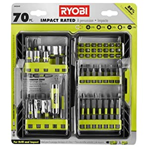 Ryobi - AR2040 - Impact Rated Driving Kit - 70-Piece