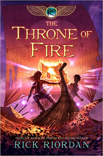 Throne of Fire, The (Kane Chronicles Book 2)