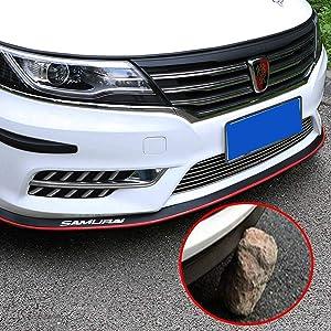 Carbon Black Front Lip,HengJia Auto Parts 2.5m//8.2ft Car Carbon Fiber Front Lip,Front Bumper Lip,Carbon Lip,Side Skirt Front Lip Spoiler 100/% Waterproof Protection