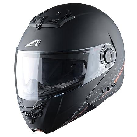 Astone Helmets RT800EX-SOLID-BMGXL Casque Modulable RT800 Noir Matt Taille XL