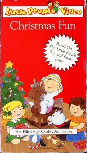 Amazon com little people christmas fun vhs