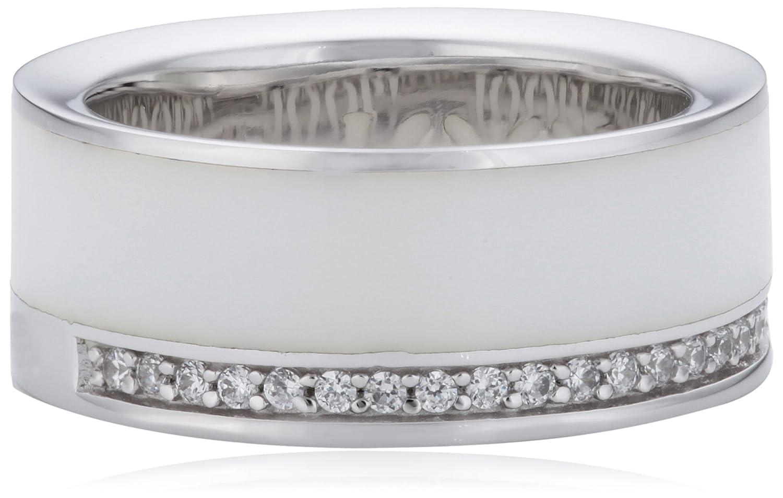 Joop Damen-Ring Epoxy Zirkonia weiss 925 Sterling Silber JPRG90653B530 günstig kaufen