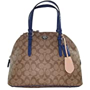Coach Peyton Signature Cora Domed Satchel - Style 24606