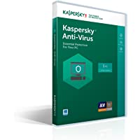 Kaspersky Anti-Virus 2017 for 1PC/1 Year for Free