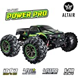 Altair Fast Remote Control Truck 4x4 (48km/h 30MPH) - 1:10 Scale Large Vehicle, Radio Controlled Off-Road 4x4 Electric Monster Truck, R/C Hobby Grade Rock Crawler RC Car (Lincoln, NE, USA Company)