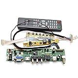 V29 Universal LCD TV Main Board Kit AUO 21.5? Monitor M215HW01 VB 1920x1080