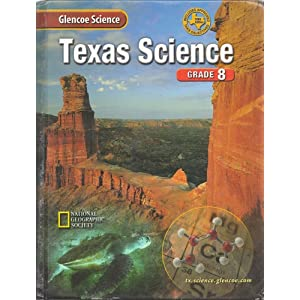Texas History Book 7th Grade Glencoe Science Texas Grade 8 Low Price