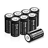 BONAI Rechargeable C Batteries 5,000mAh 1.2V Ni-MH High Capacity High Rate C Size Battery (8 Pack) (Tamaño: 8 C cells)