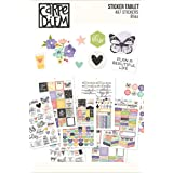 Carpe Diem by Simple Stories A5 Sticker Tablet - Bliss (Color: Bliss)