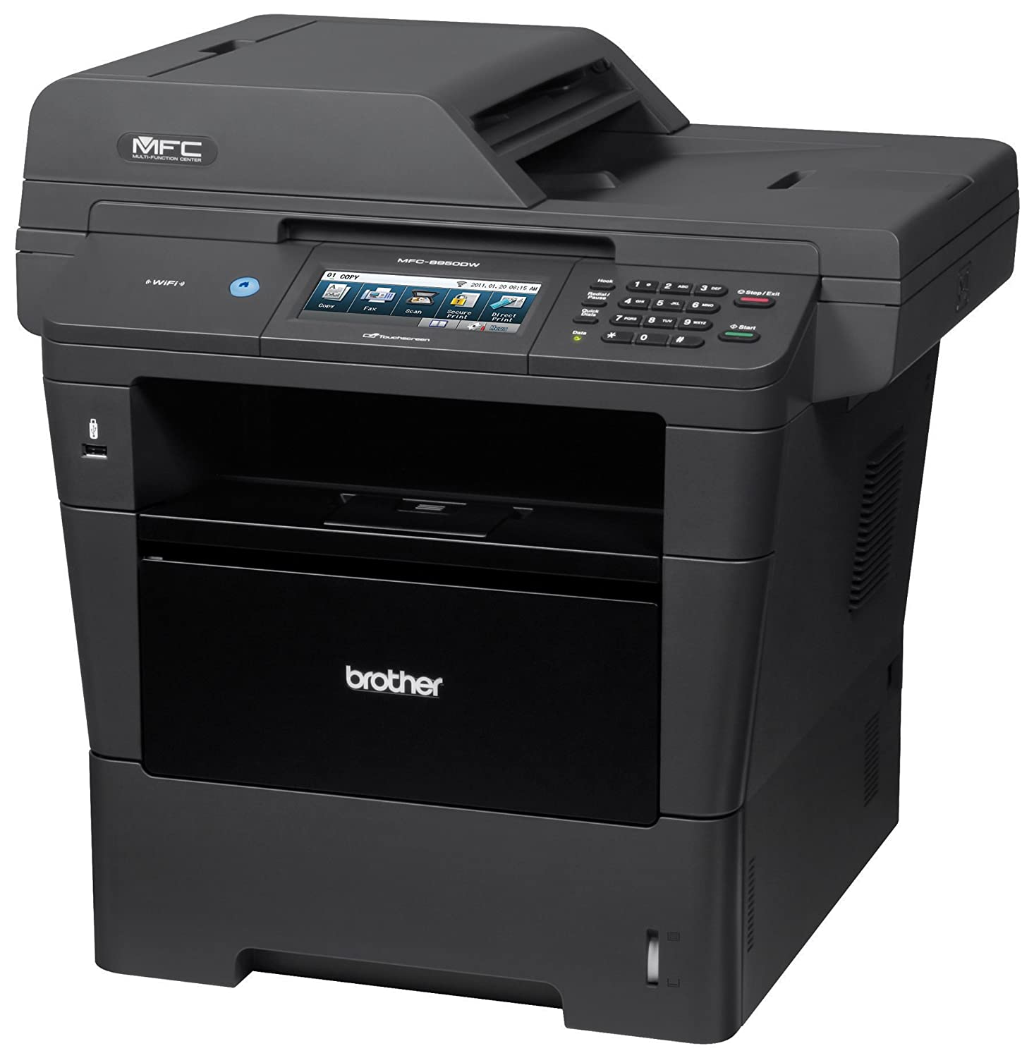 Brother MFC8950DW Wireless Monochrome Printer with Scanner, Copier and Fax