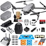 DJI Mavic 2 Zoom Drone Quadcopter and Fly More Kit Combo with 3 Batteries, Professional Camera Gimbal Bundle with Must Have Accessories (Tamaño: Mavic 2 ZOOM)