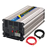 SUG 4000W (Peak 8000W) Power Inverter Pure Sine Wave DC 24V to AC 110V 120V Converter Back up Power Supply for Refrigerators, Microwaves, Coffee makers, Chainsaws,Air conditioner, Vacuums, Power tools