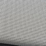 Relax-Gartenliege-Schaukelliege-Gartenliege-Sonnenliege-grau-kariert-Aluminium-Gestell-155-x-98-x-84-cm