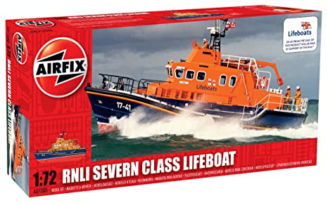 Airfix - AI07280 - Maquette - RNLI Severn Class Lifeboat