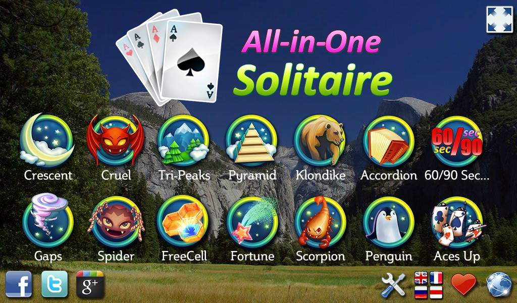 Amazon Com All In One Solitaire Appstore For Android