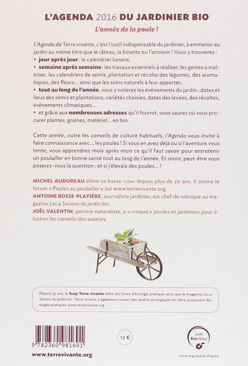 Agenda 2016 Terre Vivante