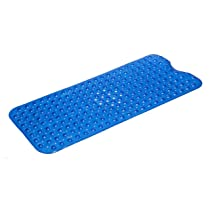 Simple Deluxe Extra Long Mat Blue