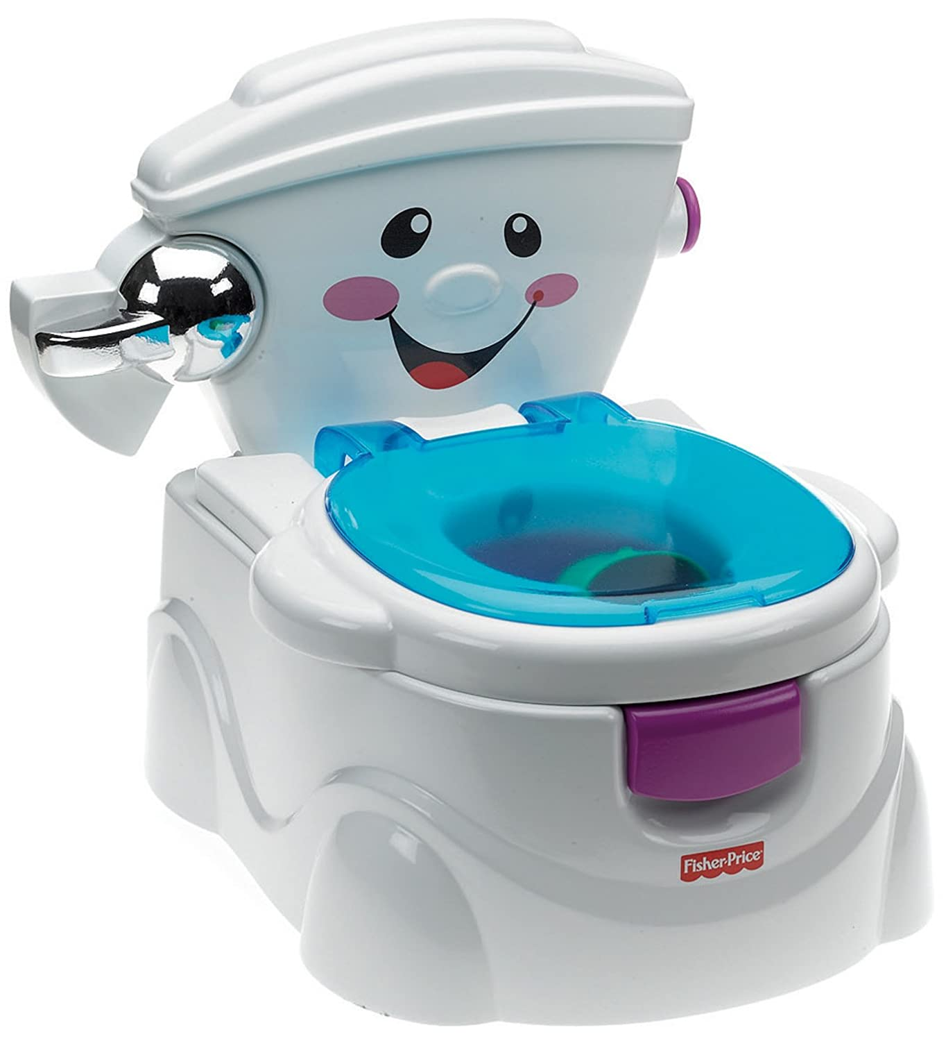 Olitas Baño Infantil:Fisher-Price Potty Training Toilet Musical
