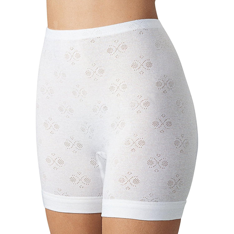 SPEIDEL Damen Langbeinschlüpfer Jacquard Nora 5er Pack – Basic 5645 100% Baumwolle, Farbe Weiss, Gr. 42-52 günstig online kaufen