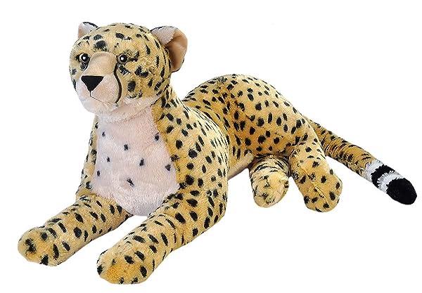Wild Republic Jumbo Cheetah Plush, Giant Stuffed Animal, Plush Toy, Gifts for Kids, 30 Inches (Color: Multi, Tamaño: 30)