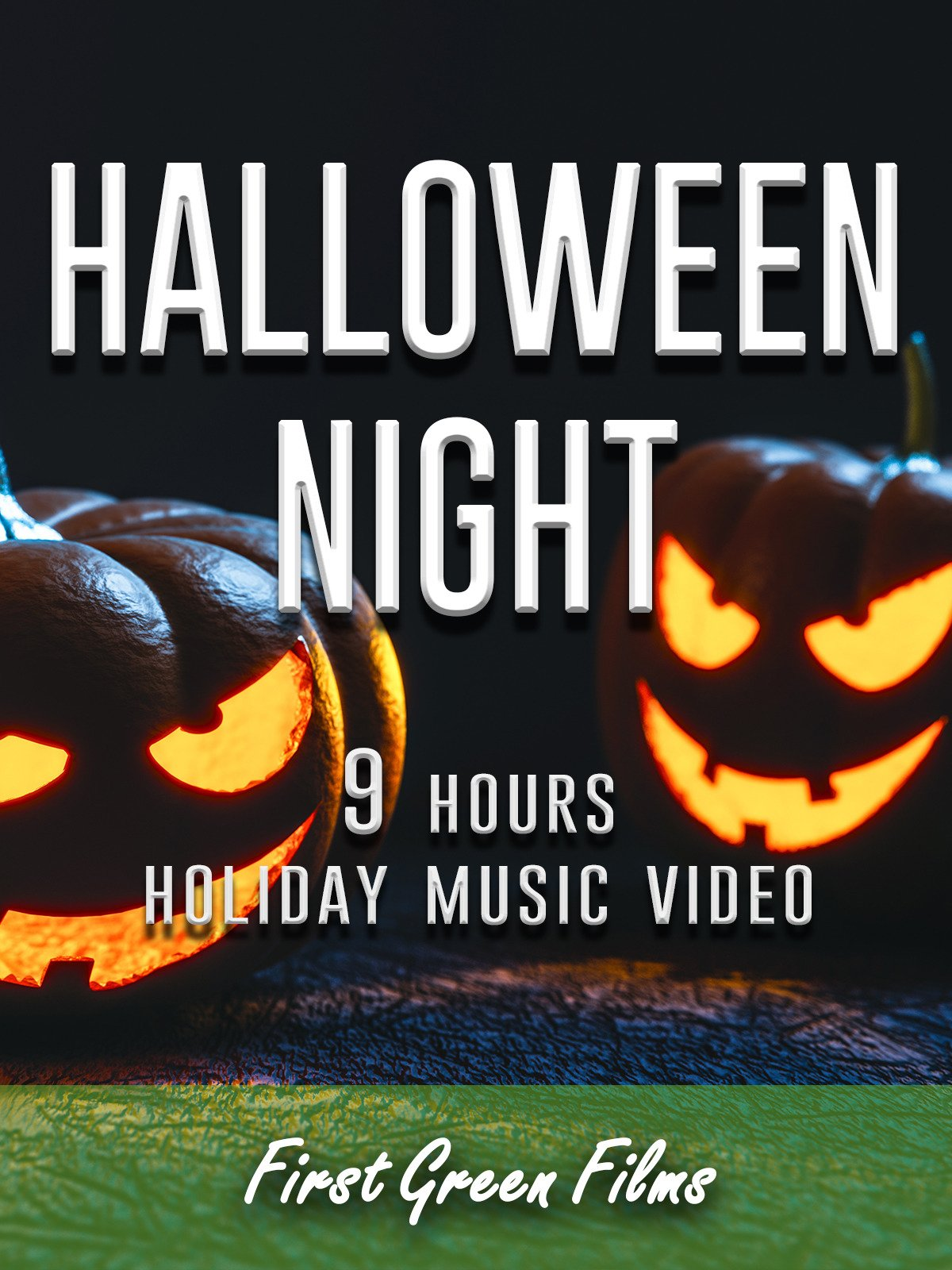 Halloween night, 9 hours holiday music video on Amazon Prime Instant Video UK