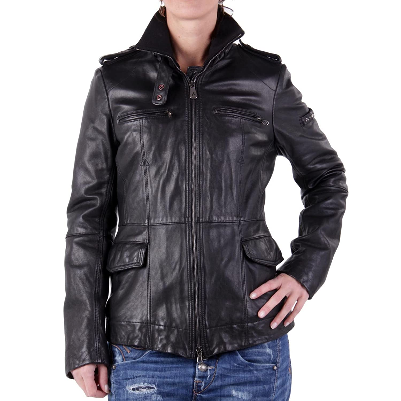 PEUTEREY Damen Winter Lederjacke Demuul Black PED0699 2. Wahl jetzt kaufen