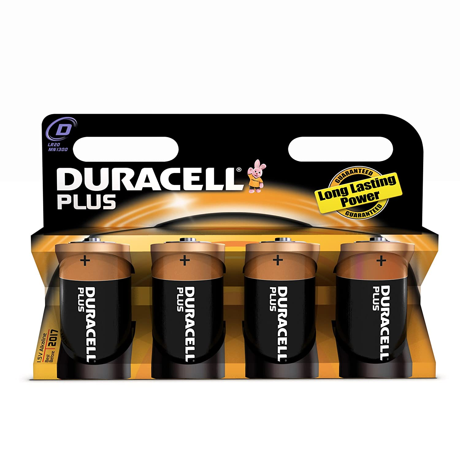 duracell batterie plus mono d lr20 1 5v im 4er pack. Black Bedroom Furniture Sets. Home Design Ideas