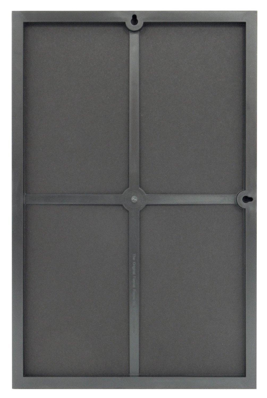 mcs plastic format frame for a 11 x 17 photo black 6 pack self standing ebay. Black Bedroom Furniture Sets. Home Design Ideas