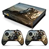 Controller Gear Officially Licensed Console Skin Bundle for Xbox One X - Fallout - Power Armor Helmet