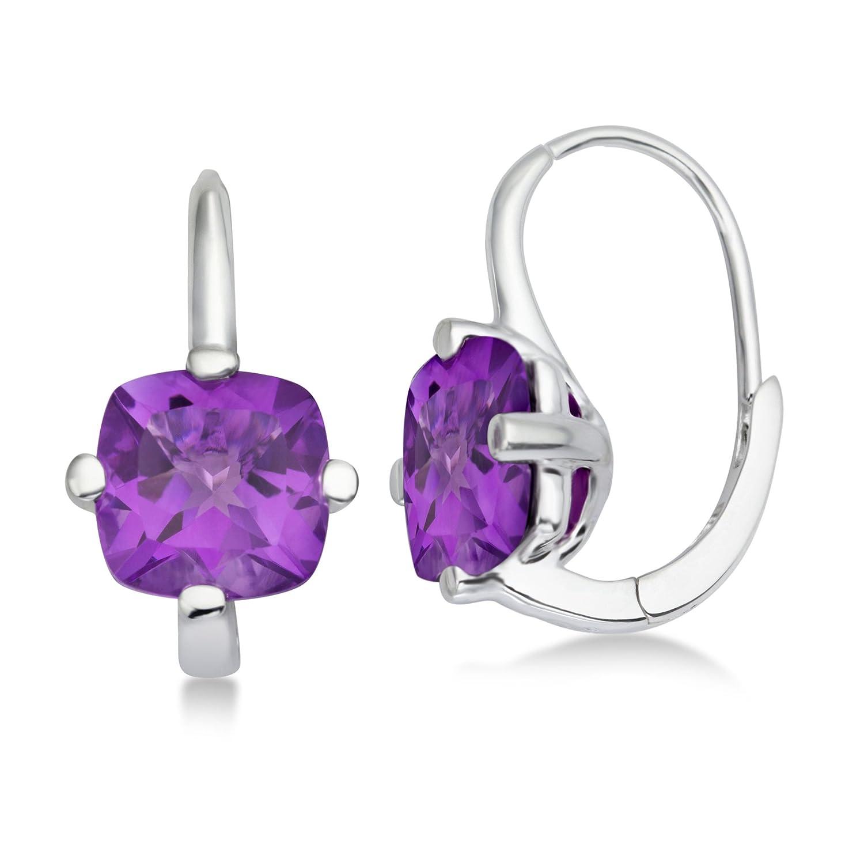 Miore Damen-Ohrringe 925 Sterling Silber Amethyst MHS015E jetzt bestellen