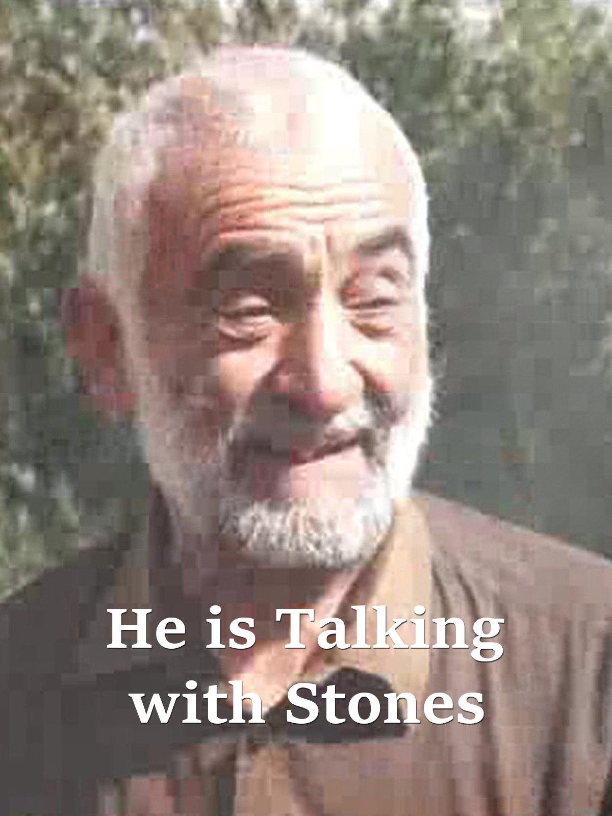 He Is Talking With Stones