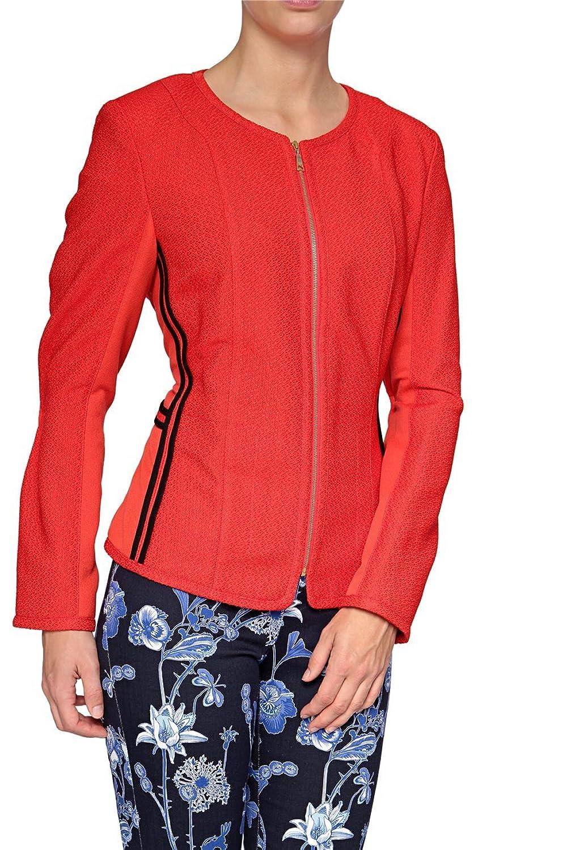 Basler Damen Blazer MODERN ART WB, Farbe: Rot kaufen