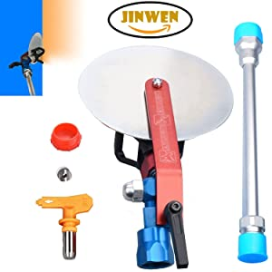Jinwen 120025 Spray Guide Accessory Tool For All Airless Paint Sprayer 7/8 w/ 517 Tip With 10 Inch Extension Pole